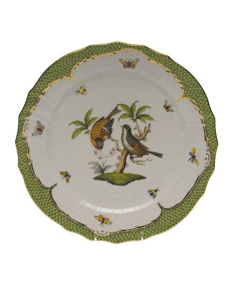 Herend Rothschild Bird Green Motif 12 Service Plate