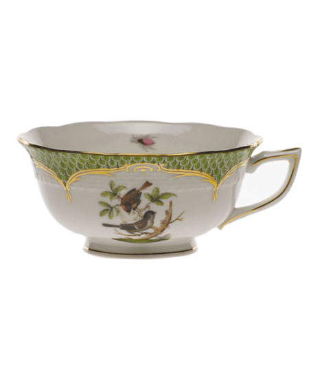 Herend Rothschild Bird Green Motif 04 Tea Cup