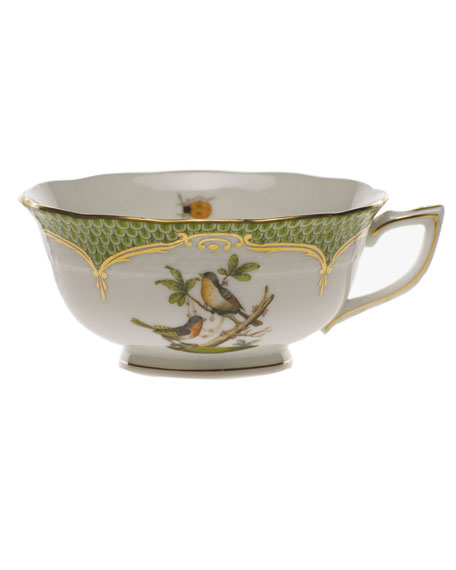 Herend Rothschild Bird Green Motif 08 Tea Cup