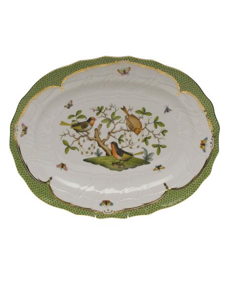 Herend Rothschild Bird Green Platter
