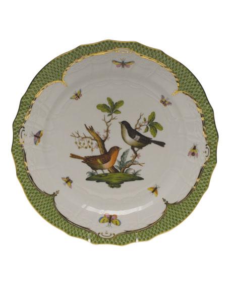 Herend Rothschild Bird Green Motif 05 Service Plate