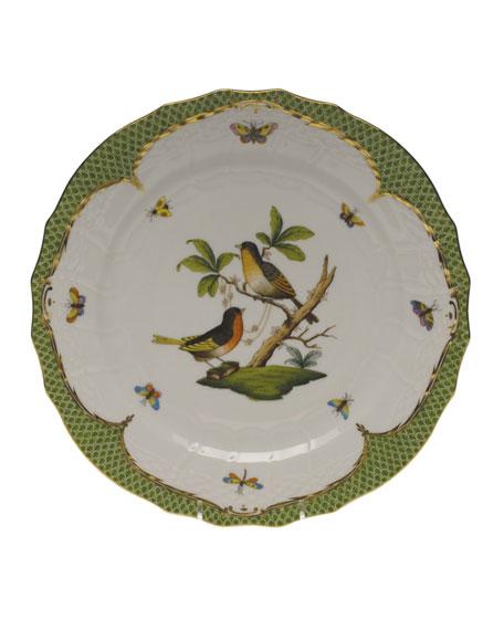 Herend Rothschild Bird Green Motif 08 Service Plate