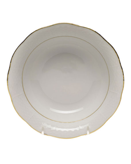 Herend Golden Edge Oatmeal Bowl