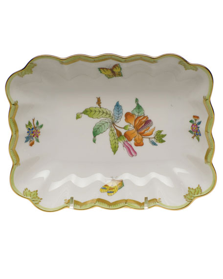 Herend Chinese Bouquet Oblong Dish
