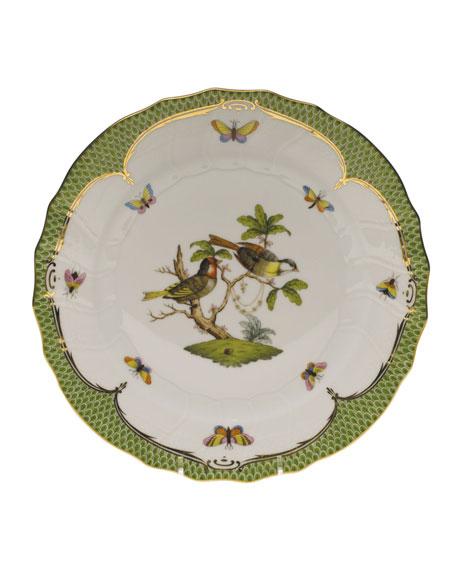 Herend Rothschild Bird Dinner Plate #11