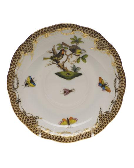 Herend Rothschild Bird Saucer #11