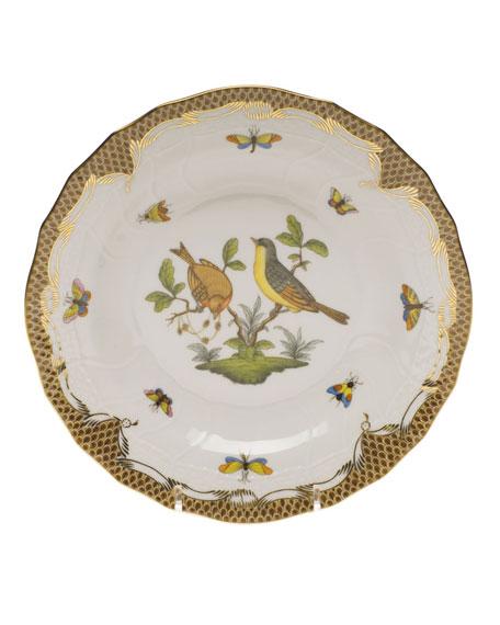 Herend Rothschild Bird Dessert Plate - Motif 07