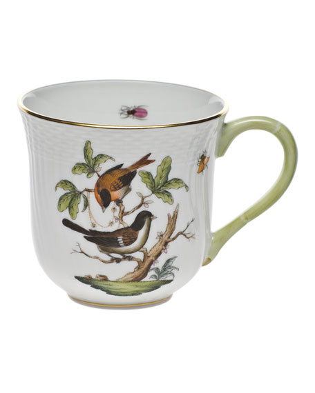 Herend Rothschild Bird Mug #4