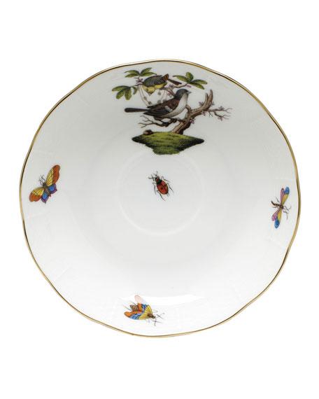 Herend Rothschild Bird Motif 01 Mocha Saucer