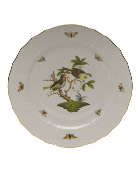 Herend Rothschild Bird Service Plate/Charger 11