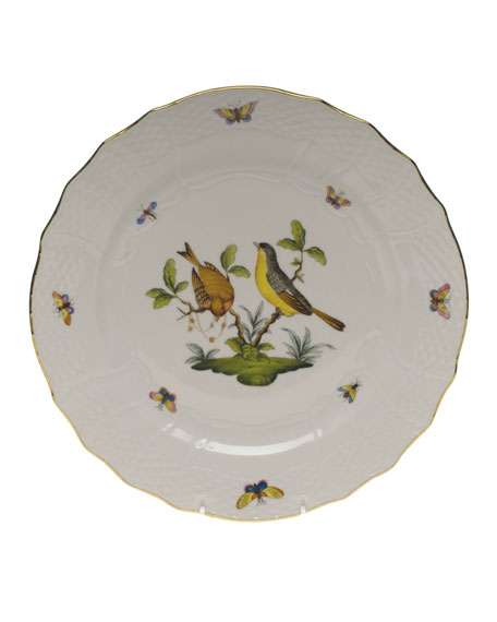 Herend Rothschild Bird Service Plate/Charger 07
