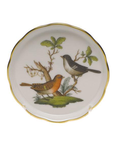 Herend Rothschild Bird Motif 05 Coaster