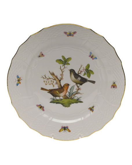 Herend Rothschild Bird Service Plate/Charger 05