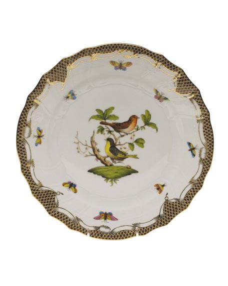 Herend Rothschild Bird Dinner Plate #3