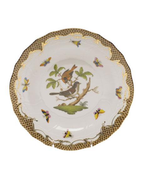 Herend Rothschild Bird Dessert Plate - Motif 04