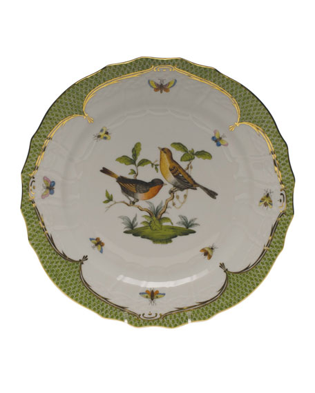 Herend Rothschild Bird Service Plate/Charger 09