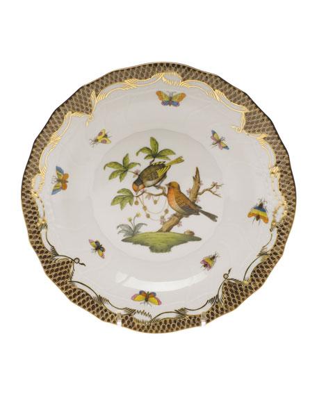 Herend Rothschild Bird Dessert Plate - Motif 10