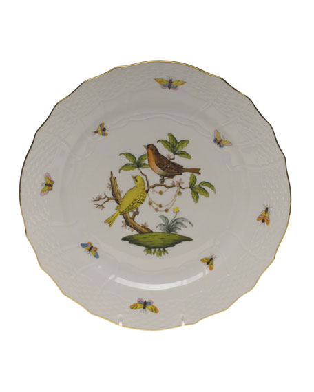 Herend Rothschild Bird Service Plate/Charger 06
