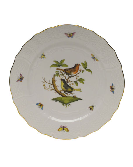 Herend Rothschild Bird Service Plate/Charger 03