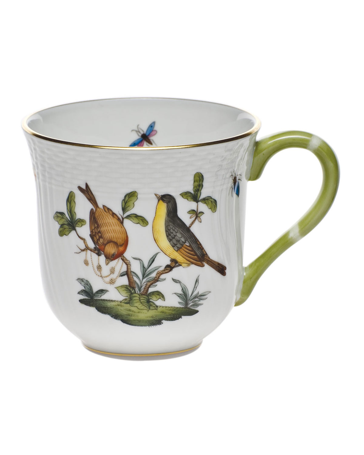 Herend Rothschild Bird Mug #7