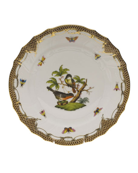 Herend Rothschild Bird Dinner Plate #2