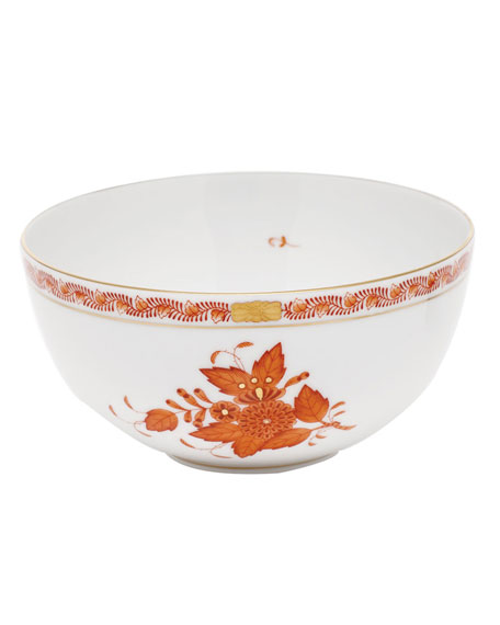 Herend Chinese Boutique Rust Small Bowl