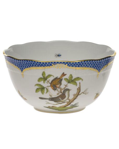 Herend Rothschild Blue Round Bowl