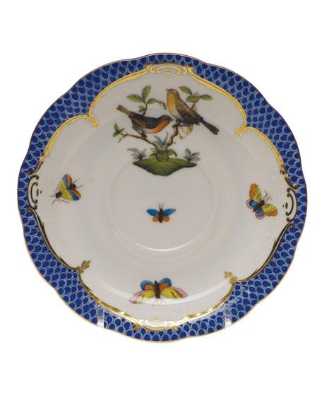 Herend Rothschild Blue Motif 09 Tea Saucer