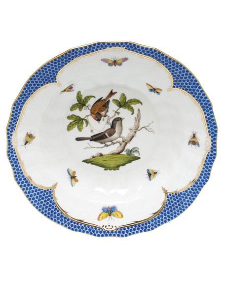 Herend Rothschild Blue Motif 04 Rim Soup Bowl