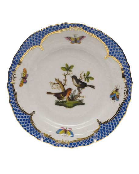 Herend Rothschild Blue Motif 05 Bread & Butter Plate