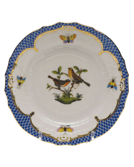 Herend Rothschild Blue Motif 09 Bread & Butter Plate