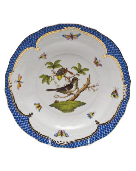 Herend Rothschild Blue Motif 01 Dessert Plate