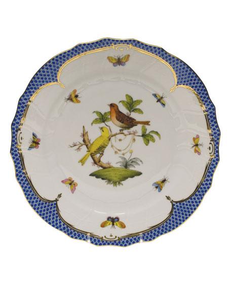 Herend Rothschild Blue Motif 06 Dinner Plate