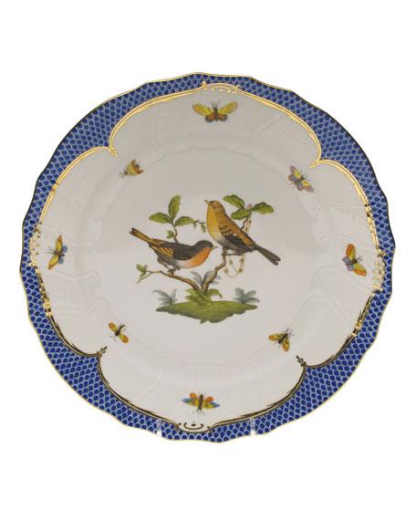 Herend Rothschild Blue Motif 09 Dinner Plate