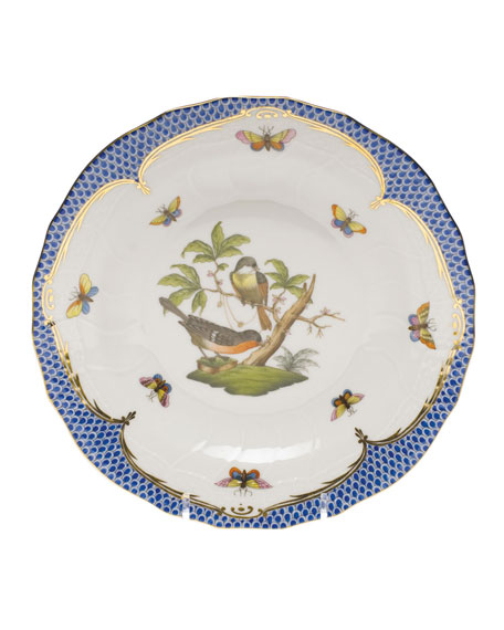 Herend Rothschild Bird Dessert Plate - Motif 02