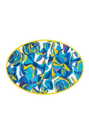 Juliska Jan Erica Rose Melamine Serving Platter