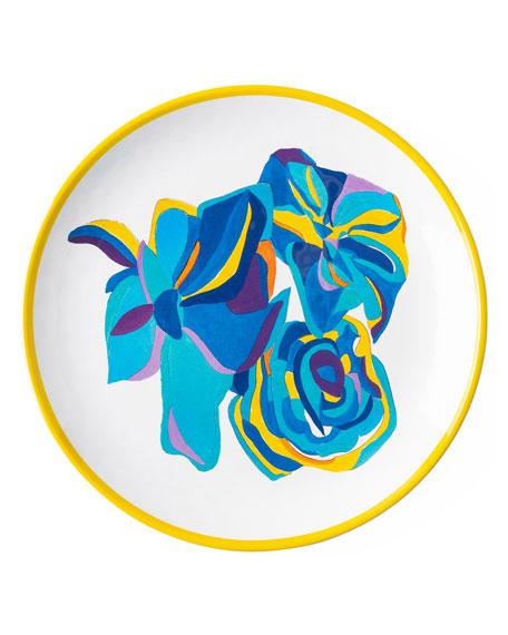Juliska Jan Erica Rose Melamine Dessert/Salad Plate