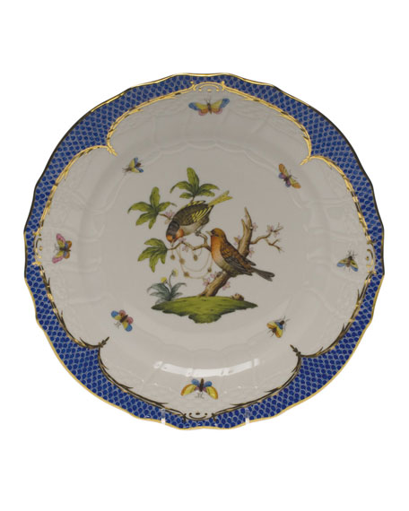 Herend Rothschild Bird Service Plate/Charger 10