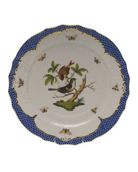 Herend Rothschild Bird Service Plate/Charger 04