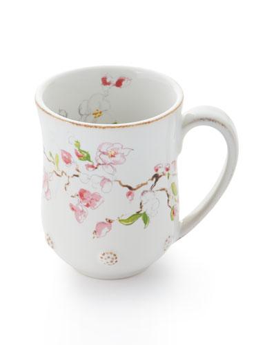 Berry & Thread Floral Sketch Cherry Blossom Mug