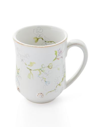 Berry & Thread Floral Sketch Jasmine Mug
