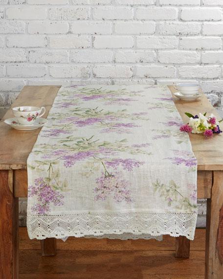 April Cornell Lilah Linen Table Runner