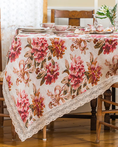 Carolina Linen Breakfast Tablecloth