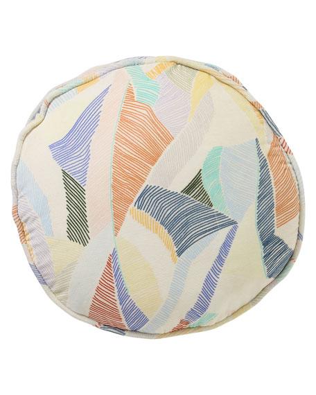 Kip&Co Boardwalk Sand Velvet Pea Cushion