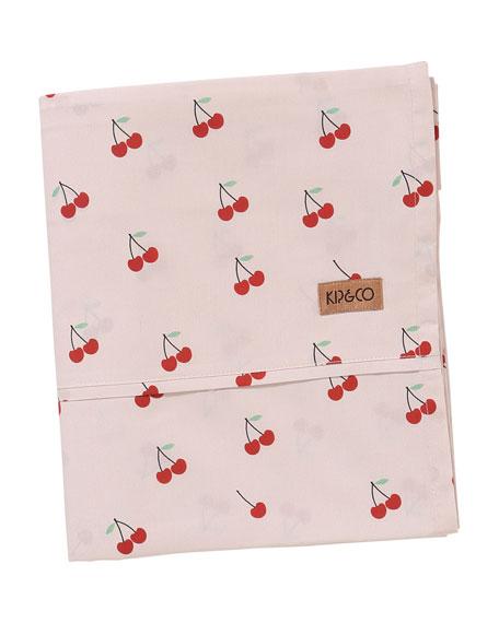 Kip&Co Kids' Mon Cherie Cotton Flat  Sheet -  Twin
