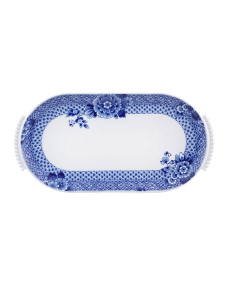 Vista Alegre Blue Ming Small Oval Platter