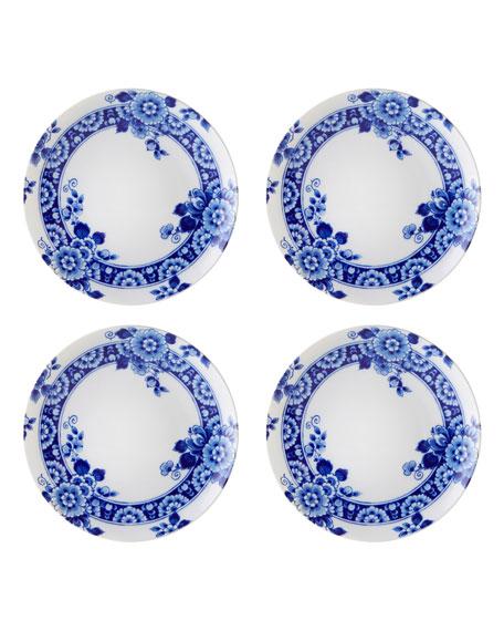 Vista Alegre Blue Ming Dessert/Salad Plates, Set of Four