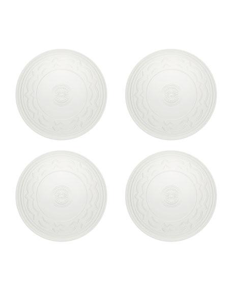 Vista Alegre Ornament Charger Plates, Set of Four