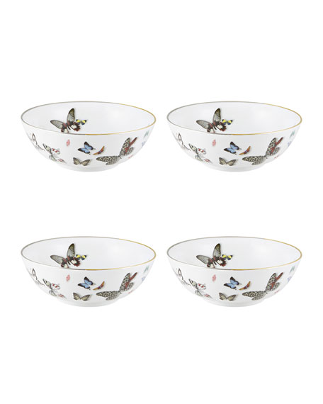 Christian Lacroix Butterfly Parade Bowls, Set of 4