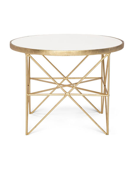 Image 2 of 3: Innova Luxury Monterey Short Side Table